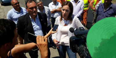 Gobernadora Vidal en Arrecifes