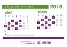 cronograma-viajes-la-plata-marzo-abril